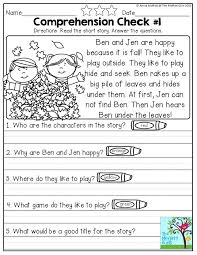 Language Arts Worksheets Kindergarten Grade Download Them And Try ...