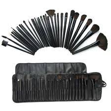 makeover essentials 24 piece brush set makeup brushes case included new my brush set 24 piece royal red