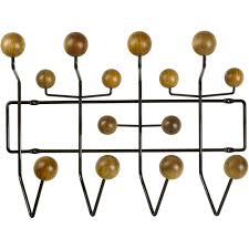Eames Coat Rack Eames Hang it All coat rack walnut 2