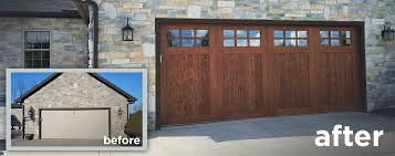 Delighful Faux Wood Garage Doors Cost That Look Realistic New And Decorating