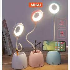 Đèn bàn học sạc tích điện Bảo hành 3 tháng đèn led đọc sách chống cận cho  trẻ học sinh MIGU.VN giá cạnh tranh