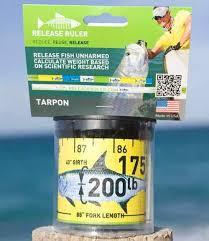 Tarpon Release Ruler Fish Measure Release