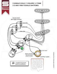 2 way mini toggle seymour duncan 3 single coils 1 volume 2 tone 3 2 way mini toggle switches