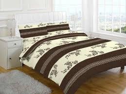 annaliese choc cream bedding set