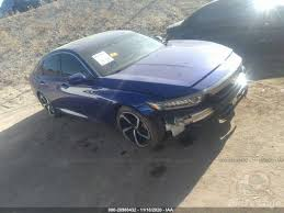 2018 honda accord sport 2.0t review. Honda Accord Sedan Sport 2 0t 2018 Blue 2 0t Vin 1hgcv2f35ja035142 Free Car History