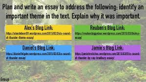 a sound of thunder presentation reuben daniel f jamie and alex db alex 6 plan and write an essay