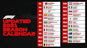 Formula 1 2021 | Calendario, orari e GP in chiaro su TV8 - SPORTinMEDIA