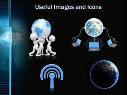 Digital Earth Revolving A Powerpoint Template From Presentermedia Com