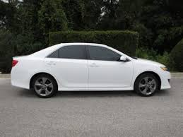 toyota camry 2012 white. Wonderful 2012 2012 TOYOTA CAMRY SE  WHITE ON BLACK 2 For Toyota Camry White T