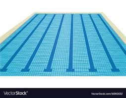 Swimming pool Royalty Free Vector Image VectorStock