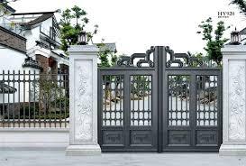 Modern Gate Design 2017 Best Modern Gates Ideas On Aluminium Fencing