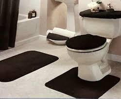 com red geometric bath mat set bath rugs