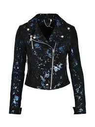 guess leather jacket with blue accents rosemary 1