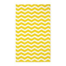 yellow and white chevron 339x539 area rug by inspirationz yellow chevron rug uk