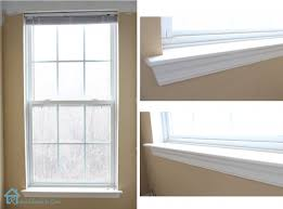 How To Install Window Trim  Pretty Handy GirlBlinds For Windows Without Sills