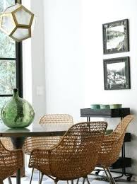 Woven Dining Room Chairs Proximity Upholstered Woven Back Dining Delectable Woven Dining Room Chairs