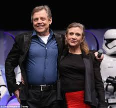 carrie fisher 2014 star wars. Plain Fisher Firm Friends Carrie Pictured With Star Wars Costar Mark Hamill In April To Carrie Fisher 2014 S