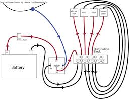 motorcycle distribution block and power relay diagram canyon chasers motorcycle distribution block and power relay diagram canyon chasers
