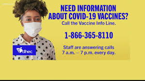 If you are eligible to book an appointment, use the vaccine finder to search for a vaccine site. Number Links To Register For Covid 19 Vaccine In South Carolina Wltx Com