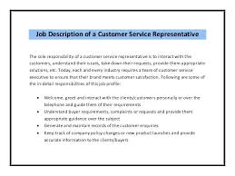 full image for retail customer service job description for resume my  perfect resume contact number my