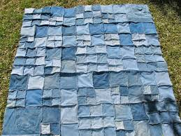 Quiltin' Jenny: Green...and Purple, too! My Recycled Quilt & repurposed recycled denim flannel quilt Adamdwight.com
