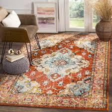 mistana newburyport orange area rug reviews wayfair intended for remodel 16