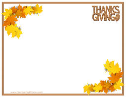Free Thanksgiving Templates For Word Thanksgiving Border Images Free Thanksgiving Borders 2