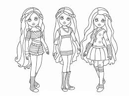 Coloring games and pictures to color are always a pleasant surprise for kids of any age. 10 Best Free Printable American Girl Doll Coloring Pages For Kids