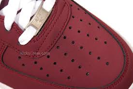 nike air force 1 cherrywood red 488298 613 cherry air force 1