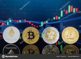 Bitcoin Cryptocurrency Investing Concept Physical Metal
