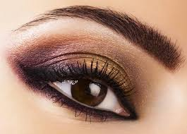 darker shadows always draw attention away from the size and shape of our features which is much needed for adding drama to your big protruding eyes