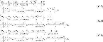these equations have been written without making the assumption that shear stress