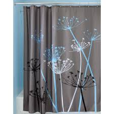 Contemporary Shower Curtain Black White Modern Contemporary