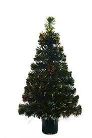 7 Ft Fiber Optic Christmas TreeBlack Fiber Optic Christmas Tree