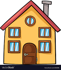 Funny House Cartoon