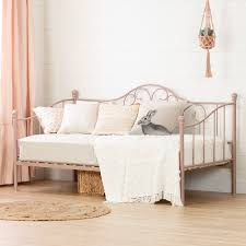 classic pink metal daybed lily rose