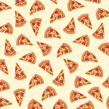 repeating pizza background. Beautiful Background Pizza Pattern Art Print By Claire Lordon And Repeating Background Y