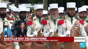 Bastille Day parade takes place ...