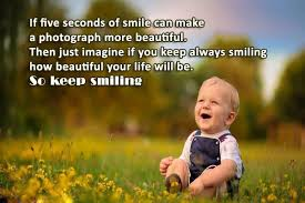 Always Smile Quotes Mesmerizing Keep Smiling Quotes If Five Seconds Of Smile Can Make A Photograph