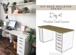 desk systems home office. Modular Desk System More Like Home DIY Series 2 Systems Office