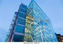 Tower Bridge House, modern glass building, London - Stock Image