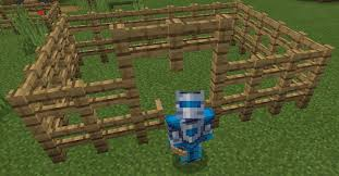 how to make a fence in minecraft