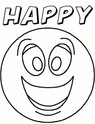 Small Picture Crafty Emotion Faces Coloring Pages 5 HAPPY FACE FEELINGS STORY