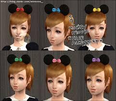 Mod The Sims - (new mesh) MickeyMouse Hair accessary (11.29EDIT)