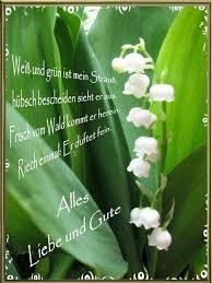 Maiglöckchen Blume Spruch Grußkarten E Cards Postkarten Geburtstag