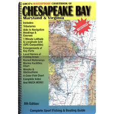 Upper Chesapeake Bay Chart Chesapeake Bay Waterproof Chartbook 8th Edition