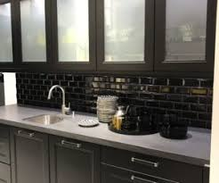 glass kitchen cabinet doors. It Suits All Styles And Kitchen Types, Some Better Than Others. Simple, Transparent Glass For Cabinet Doors Is The Classic T
