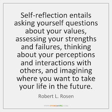 Self Reflection Quotes Custom Robert L Rosen Quotes StoreMyPic