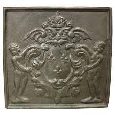 cast iron fireback. Antique Cast Iron Fireback, France, 1800s For Sale Fireback R