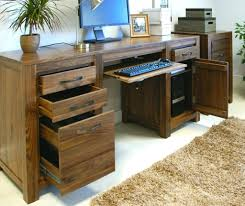 office desk solid wood. Home Office Furniture Solid Wood Wooden Desk Chic And Creative Decor